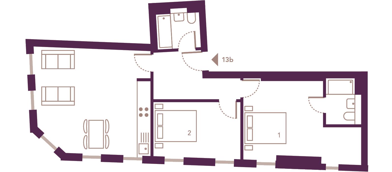 Apartment 13b