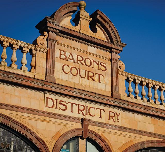 Barons Court Underground